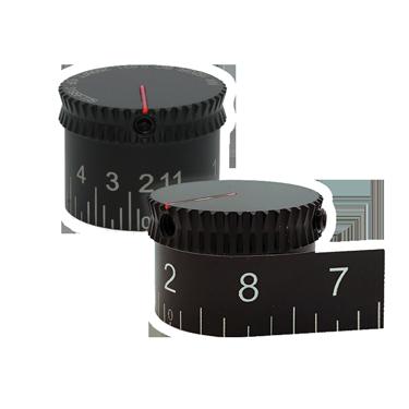 Waterproof and Laser Engraved Custom Turret